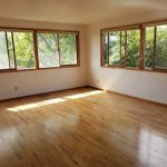 Crimson Properties 1358 and 1360 NW Hall Drive in Pullman Washington Near Washington State University - huge open living room