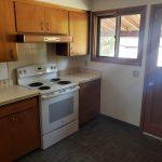Crimson Properties 1358 and 1360 NW Hall Drive in Pullman Washington Near Washington State University - kitchen with modern updates
